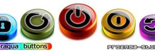 Coloraqua Buttons by proenca