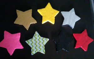 Duct Tape Stars by DuctileCreations