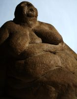 Fat sculpture 3. by BrOk3nW1Ng5