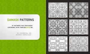 Damask Patterns by basstar