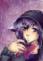 ACEO 119 Shelter me by ChemicalIceTea