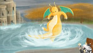 Dragonite by Kilala04