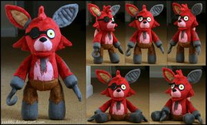 Five Nights At Freddy - Old Foxy Plush by roobbo