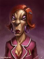 The Waitress by RogierB