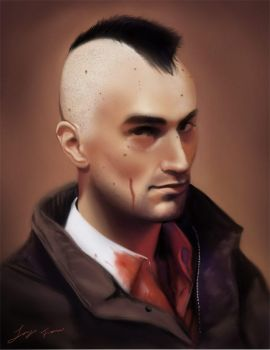 Travis Bickle by duendefranco