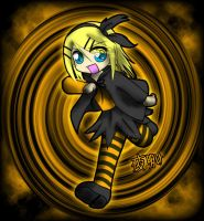 Kagamine Rin - Trick and Treat by Rinoa-hime