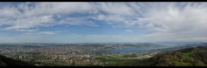 Over Zurich by GuadianAngel