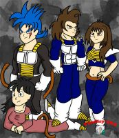 The League Of Saiyans by JoeyTheMostAwesome