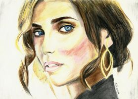 Nelly Furtado. by Shh-GonnaDrawNow