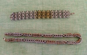 Chain Maille bracelets 2 by Marcusstratus