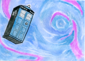 The TARDIS by CourtWalrus