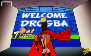 Return of the king: Chelsea welcome back Drogba by OmarMomani