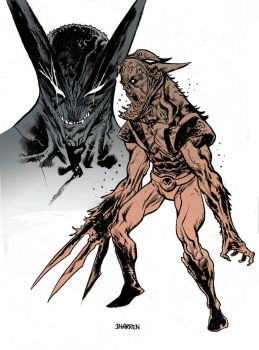 Wolverine Venom color by JHarren