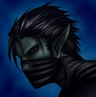 CoW - Unnamed Dark Elf Thief by DreamingRed