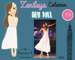 Doll Zendaya Coleman by AbbeyDenith