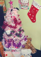 Sanrio Christmas Tree by Cherry-Fizzle