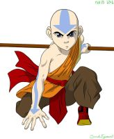 Avatar Aang by swazilan