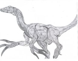 Therizinosaurus by philliesorca