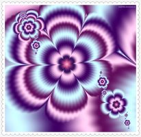 Fractal flowers 4 by Sophie-Y