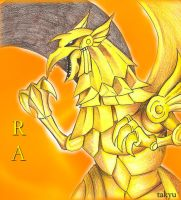 Winged dragon of ra by KarLaBlack