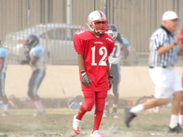 Spencer in Football Practice by ILoveCP