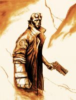 Hellboy by bagger043