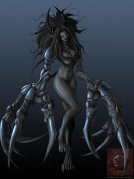 Demoness of the claw by vempirick