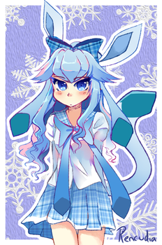 Glaceon by Rencudia