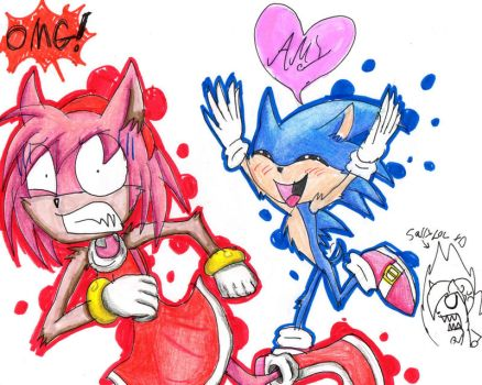 Sonic loves Amy? by Bunnygirl51728