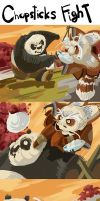 The Gags of Kung Fu Panda - 01 by galgard