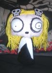 Lenore the cute little dead girl rag doll 2 by ScorpionsKissx
