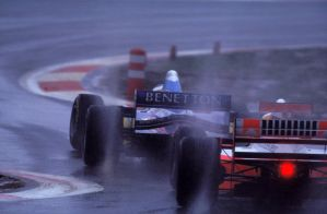 Michael Schumacher | Mark Blundell (Europe 1995) by F1-history