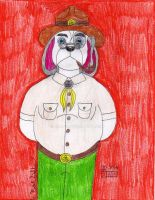 Scoutmaster Barnaby by jmg124