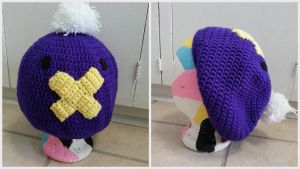 Drifloon Slouchy Hat Mask by Chebk