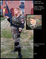 Snipe Wolf : MGS by Destinyknights