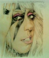 lady gaga by blinketyblink