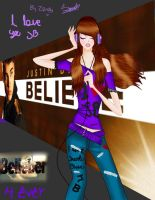 Belieber 4ever by SandyNnaMoxa