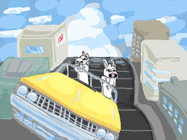 crazy taxi DoD edition by iamtreXD