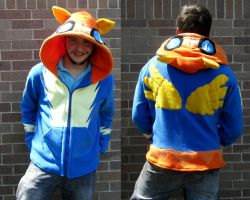 Wonderbolt Spitfire Hoodie / Sweatshirt by Lisa-Lou-Who