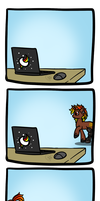 Don't leave your browser open... by DragonGirl983