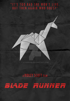 Blade Runner (1982) - Minimalist Poster (2) by Stormy94