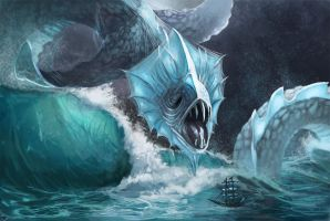 Deadly Shallows - Water Plane by Drayok
