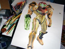 Samus Desktop by talikira