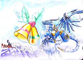 transformers prime : skystalker christmas by puticron