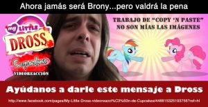 My Little Dross: Videoreaccion de Cupcakes (Petn.) by mickeyelric11