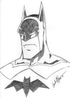 Batman - $5 by AndrewJHarmon