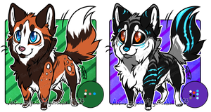 .:CLOSED AUCTION: 2 Canines Adoptables, Batch 3:. by Mayasacha