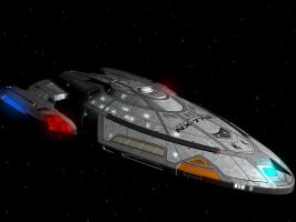 Starfleet - Interceptor Class by brstarship