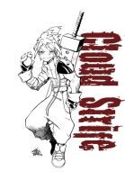cloud strife lines by haruko79