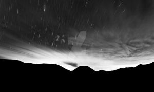 startrail at Bromo by ntoernanto